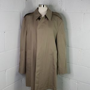 London fog mens trenchcoat